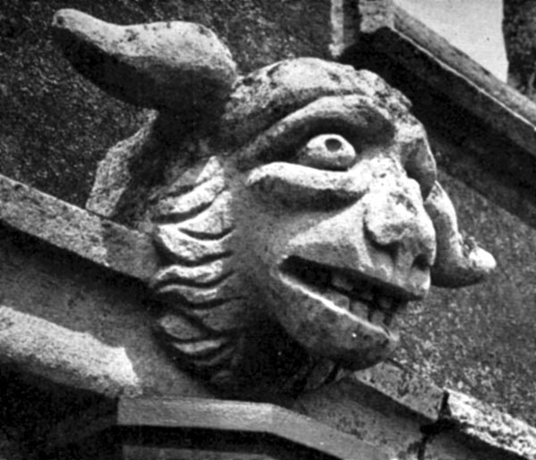 Gargoyle, All Saints Church, Leighton Buzzard